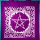 "Celtic Upright Pentacle Bag, 16"" x 16"":RBUP"