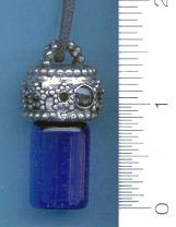 Oil Bottle Star Enamel, pewter:JO530