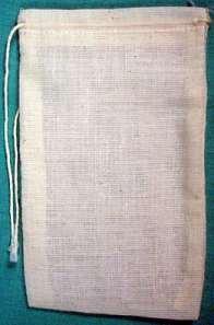 """Cotton Tea Bags 3"""" x 5"""" 500pkg"""