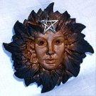 """Goddess of the Woods Wall Sculpture (4""""hx 4 1/2""""w)"""