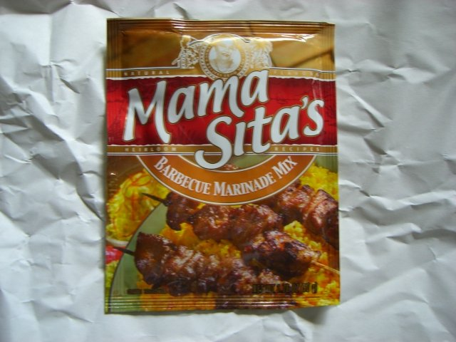 Mama Sita's Barbecue Marinade Mix