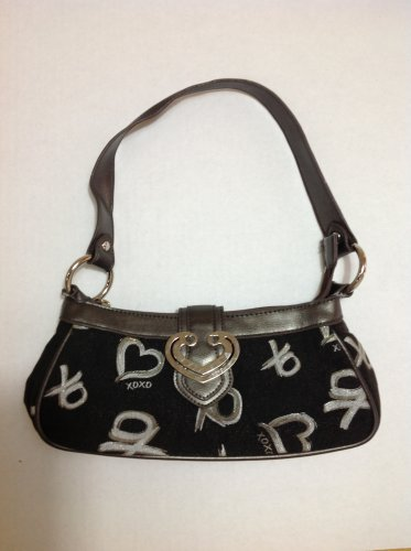 XOXO Black Shoulder Bag Purse small