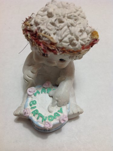 "Retired Dreamsicles ""It's Your Birthday"" Cherub Figurine 1995 Issue #DC304"