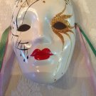 New Orleans Mardi Gras Souvenir Small Decorative Porcelain Mask Collectible