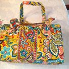 Vera Bradley Caroline Provencal Shoulder Bag Yellow Multi NWT