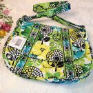 LIME'S UP Vera Bradley Saddle Up CROSSBODY PURSE New Nice
