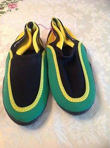 Jamaica No Problem Water Shoes Aqua Size 4 Unisex