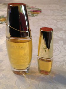 2 Beautiful Perfume by Estee Lauder, 1 oz EDP Spray for Women and 0.1 oz