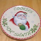 Lenox Holiday Cookies for Santa Plate, New