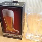 Brew Beer Mug 33 Oz Boot Shape Jumbo Drinking Boot 1L