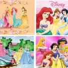 Lot Of 12 Disney Princess Fabric Panel Quilt Squares