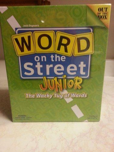 Word on the Street Junior wacky tug  word excitment family team card brainstorm