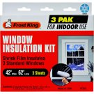 Window Insulation Kit standard indoor 3 pak frost king