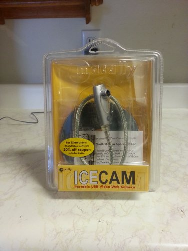 Macally Portable Goose Neck USB Video Web Cam  ICECAM