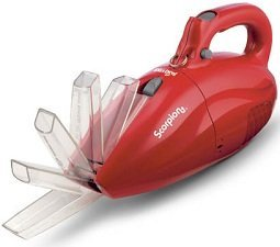 Dirt Devil Hand-Held Cleaner Vacuum  Scorpion Quick Flip Corded Bagless suction