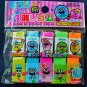 Fruit Scented Eraser Mini Rubber 10pcs