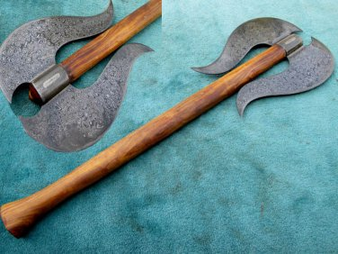 Astonishing Custom Hand Made Marvelous Damascus Steel AXE (HK-279)
