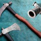 Astonishing Custom Hand Made Marvelous Damascus Steel AXE (HK-271)