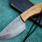 Astonishing Custom Hand Made Damascus Steel Hunting Knife (HK-256)