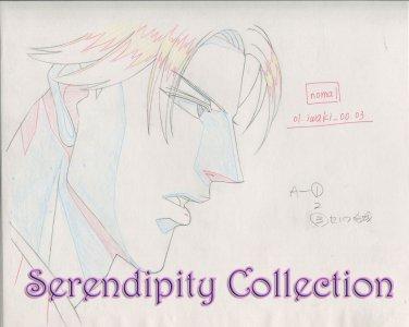 Haru wo Daiteita Production Genga (Ep 2 cut 157 )