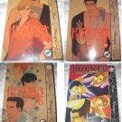 "Kizuna yaoi manga ""Deluxe Edition"" Vol 3-6"
