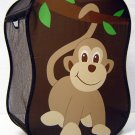 Starting Small Novelty Monkey Laundry Hamper, Baby Nursery, Brown