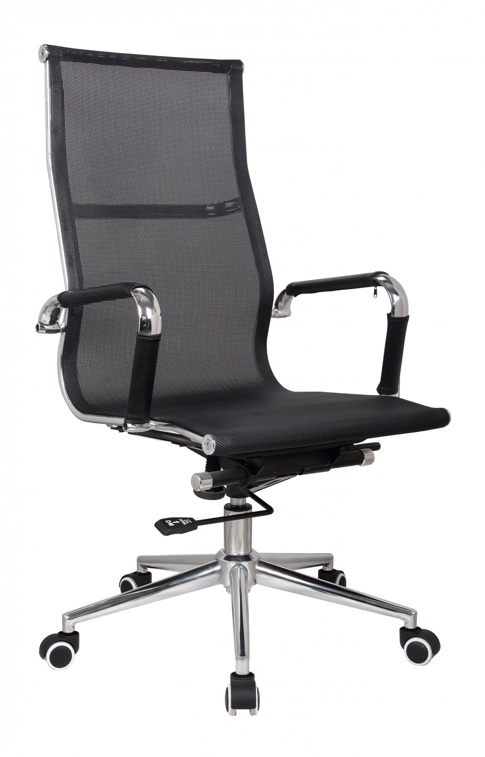 stylish and modern high back mesh executive office chair black