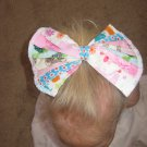 Colorful quilt bow