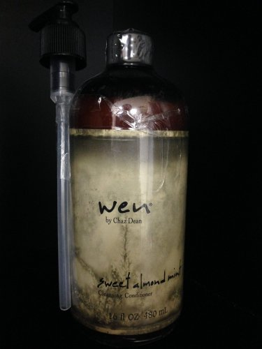 WEN by Chaz Dean Sweet Almond Mint Cleansing Conditioner 16 oz