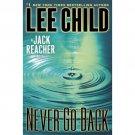 Never Go Back - Jack Reacher Novel
