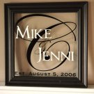 Personalized Family Name Sign...16 X 13