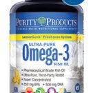 Ultra-Pure Omega-3 Fish Oil with LemonLock