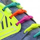 No Tie Shoelaces: Hickies..Neon Rainbow