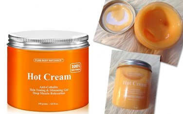 Hot Cream by Pure Body Naturals : 8.8 oz