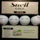 Snell Get Sum Golf Balls (SIX BALLS)