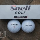 Snell Get Sum Golf Balls (THREE BALLS)