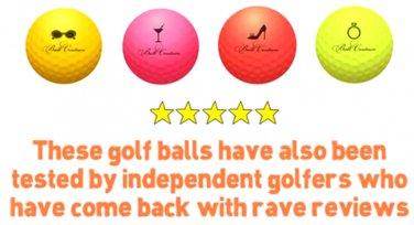 Couture Golf Balls (3 balls)