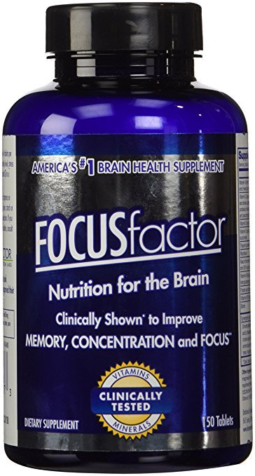 FOCUS  FACTOR Dietary Supplement, 150 Tablets