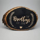 Bass Wood:   Engraved Home Sign (7 x 10 inches)