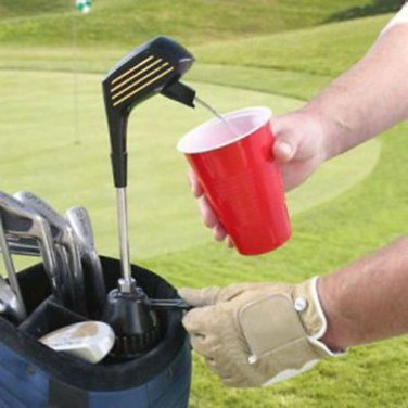Club Champ Kooler Klub Golf Club Beverage Drink Dispenser