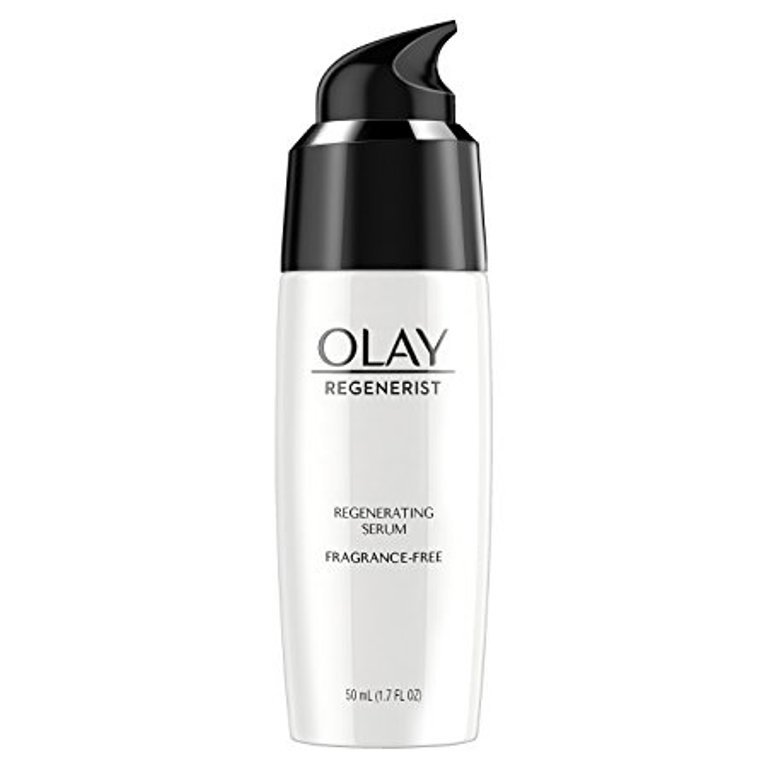 Olay Regenerist Regenerating Lightweight Moisturization Face Serum, Fragrance-Free 1.7 Fl Oz