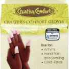 Dritz Crafters Comfort Glove-Medium (Small + Large available)