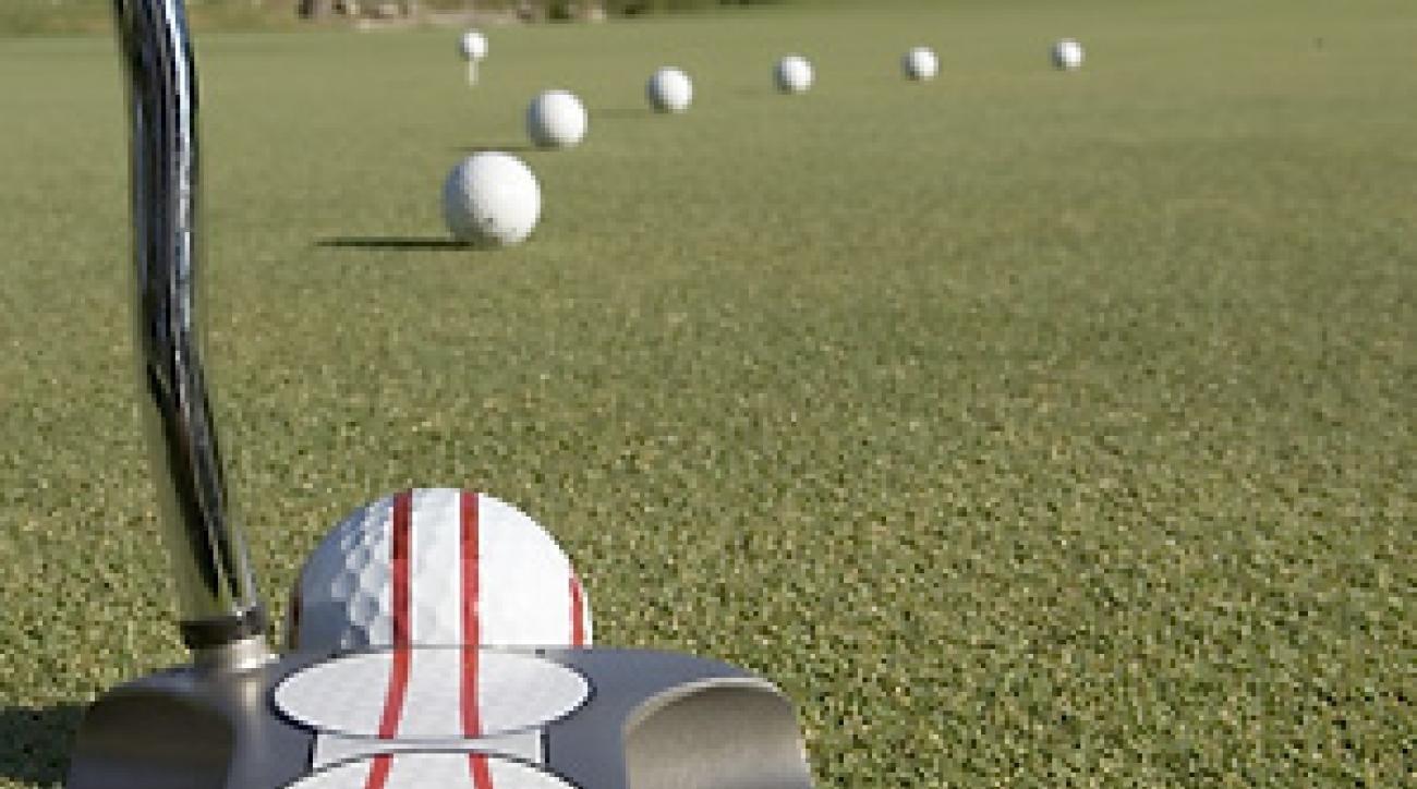 Pelz Golf O-Ball (3 Pack) :  MAKE MORE PUTTS