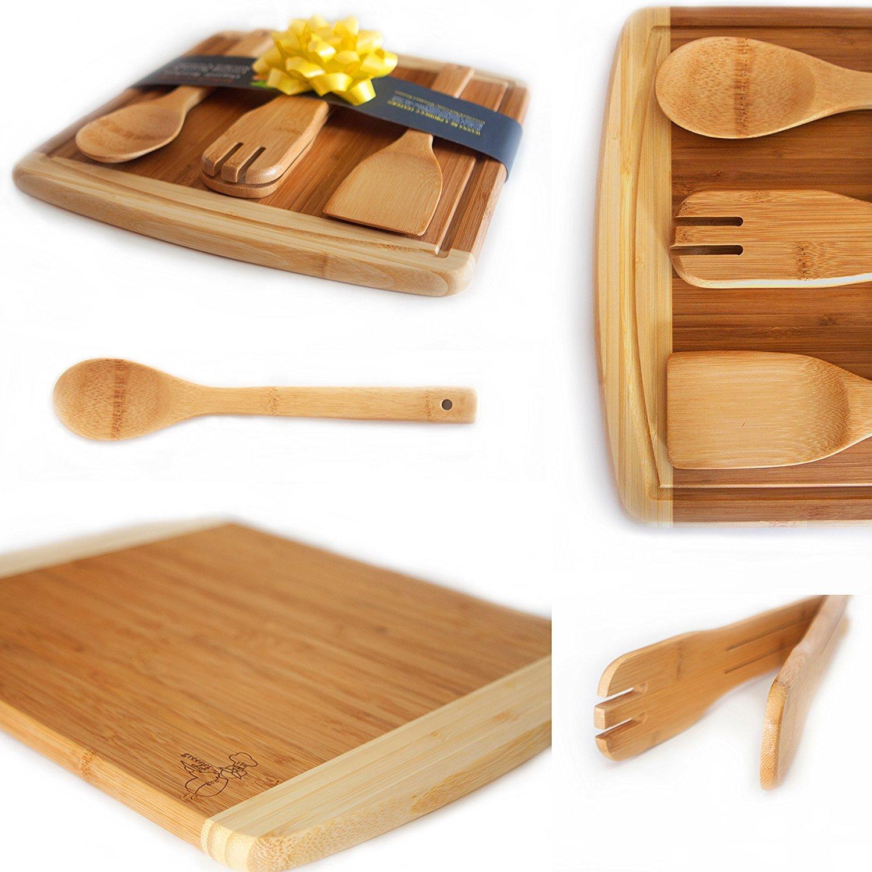 Bamboo Cutting Board Set.....14.5 X 11.5 INCHES