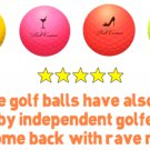Couture Colored Golf Balls (FOUR BALLS)