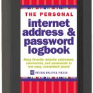 The Personal Internet Address & Password Log Book (6.0 inch)