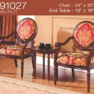 KF91027 (3 Pcs Traditional Accent Chair Set)