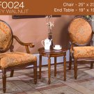 KF0024 (3 Pcs Traditional Accent Chair Set)