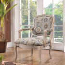 Rustic Accent Chair (KF98053)