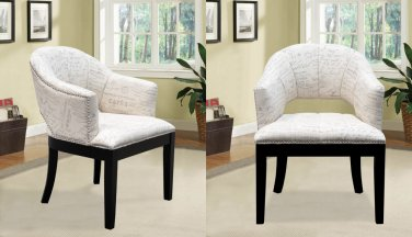 DS02 Harmony Accent Arm Chair (Set of 2 Pcs)